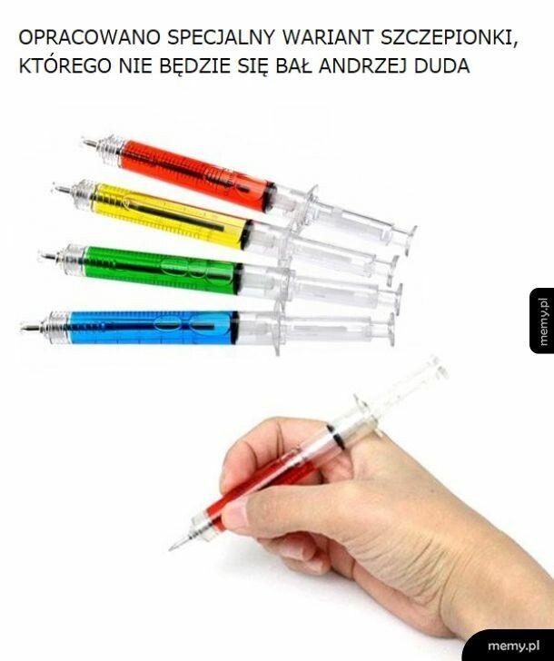 Specjalna szczepionka