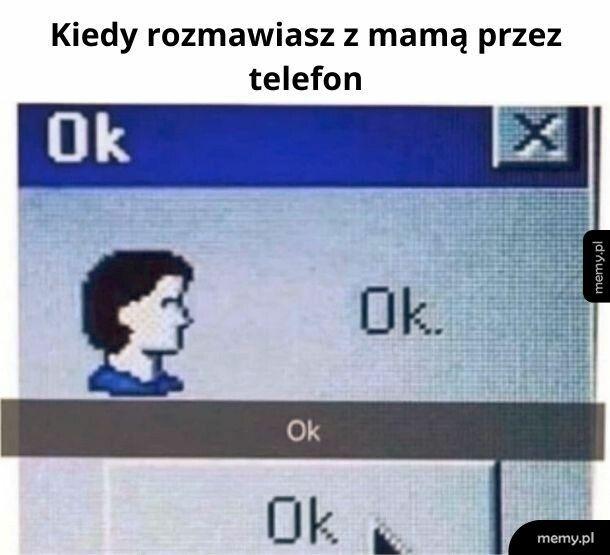 Rozmowa z mamą