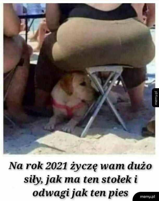 Siły i odwagi  na 2021!