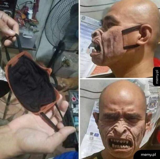 Oryginalna maska