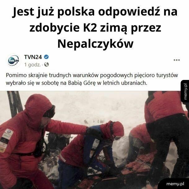 Jest polska odpowiedź