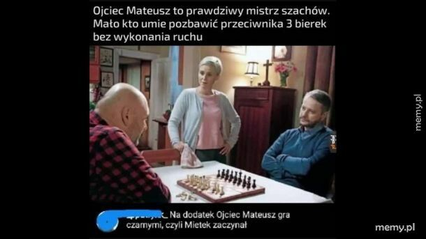 Otwarcie szachowe ojca Mateusza