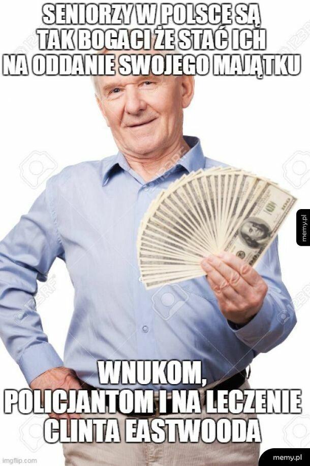 Seniorzy w Polsce