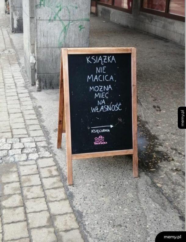 Księgarnia w Bydgoszczy
