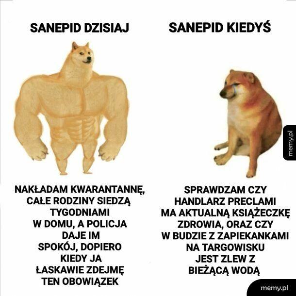 Sanepid kiedyś i dziś