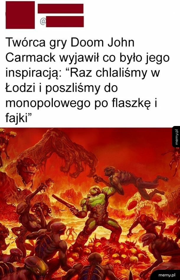 Inspiracja Doom