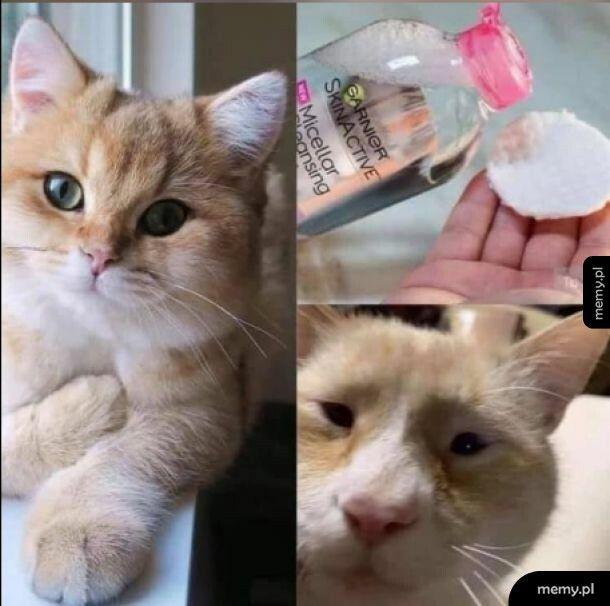 Make-up off