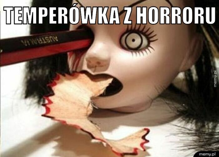 Temperówka z horroru