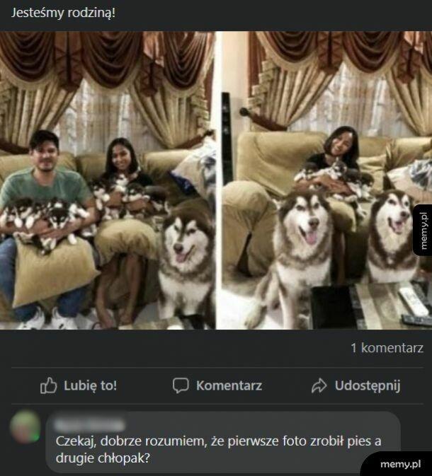 Rodzina na zdjęciu