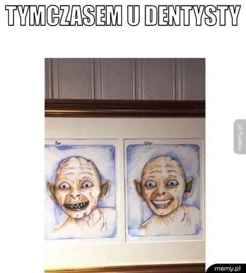Tymczasem u dentysty