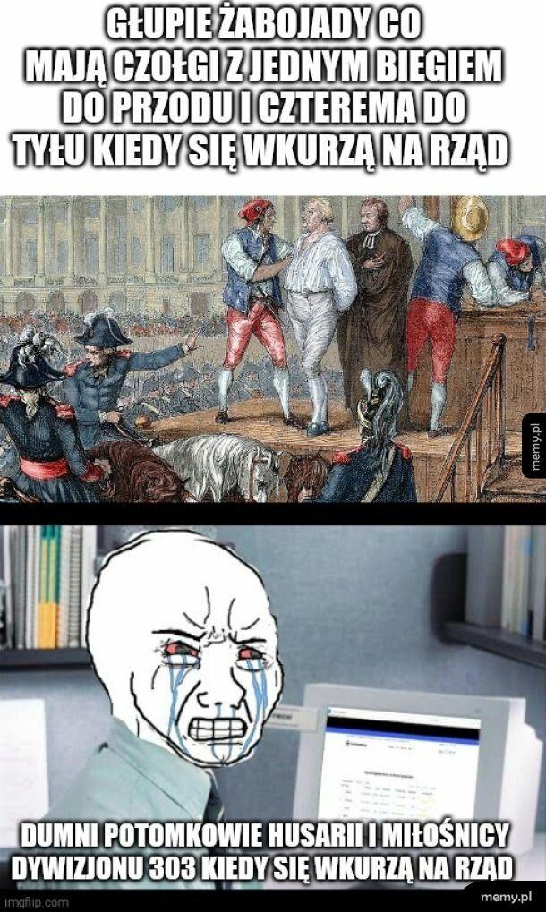 Żabojady vs potomkowie husarii