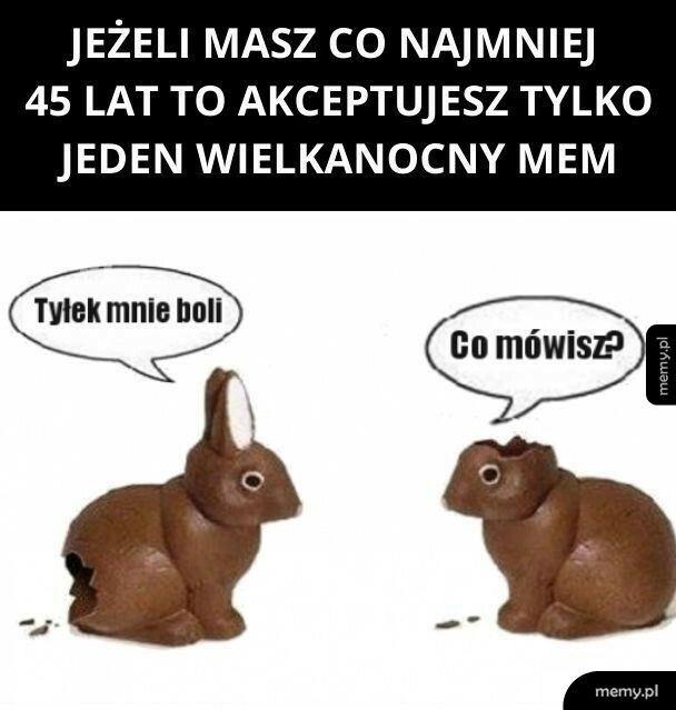 Wielkanocny mem