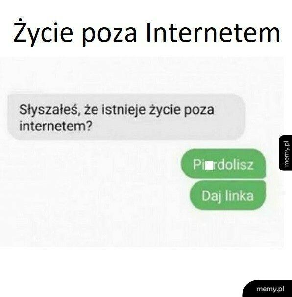 Życie poza Internetem