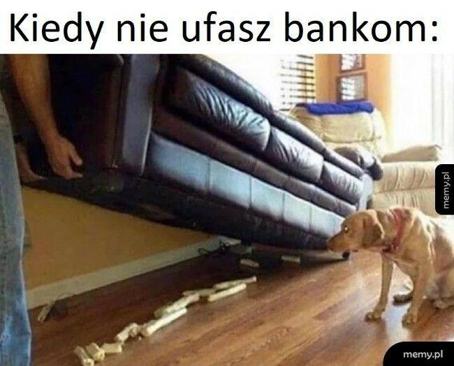 Kiedy nie ufasz bankom