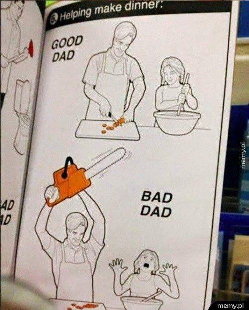 Dobry i zły tata - poznaj różnice