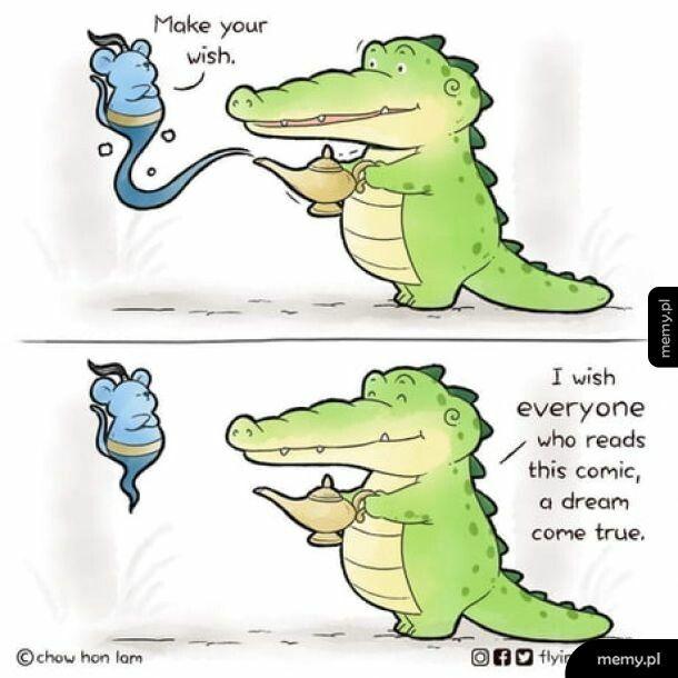 Altruistyczny krokodylek.