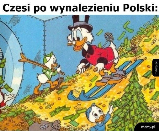 Czesi po wynalezieniu Polski