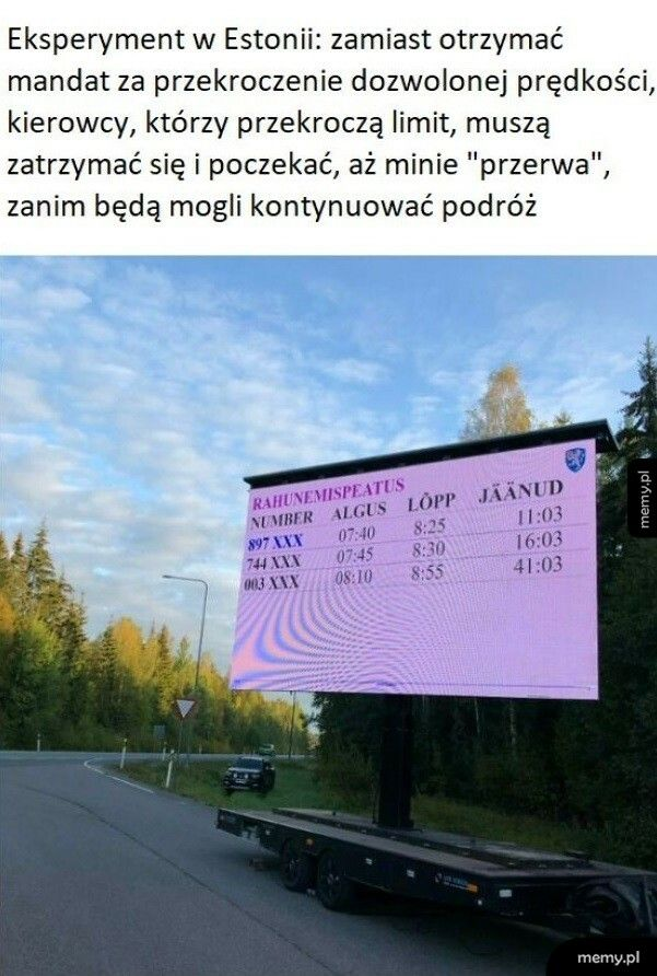 Eksperyment w Estonii