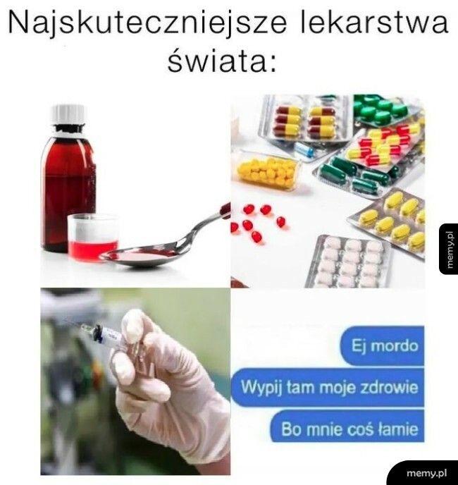 Najskuteczniejsze lekarstwa na świecie