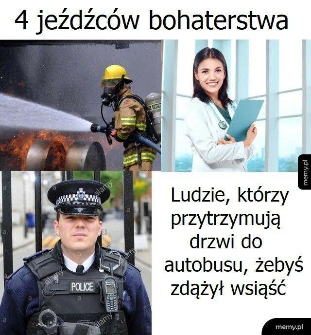 4 jeźdźców bohaterstwa
