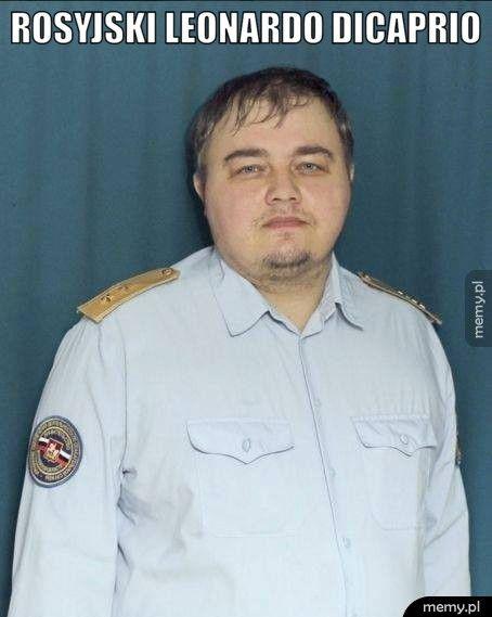 Rosyjski Leonardo DiCaprio