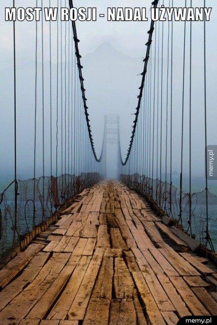 Most w Rosji.