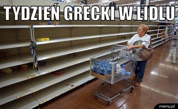 Tydzień grecki w Lidlu .
