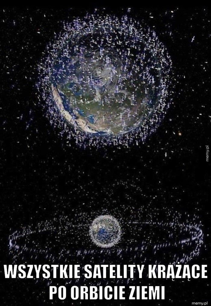 Satelity.