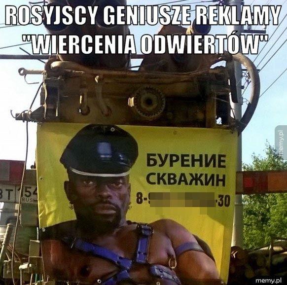 Rosyjscy geniusze reklamy.
