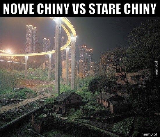 Nowe Chiny vs stare Chiny
