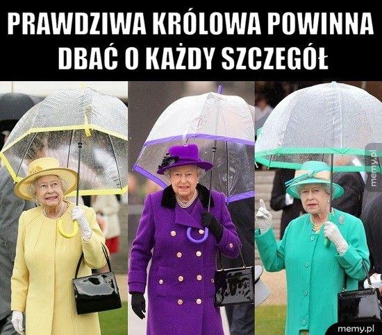 Prawdziwa królowa powinna dbać o każdy szczegół