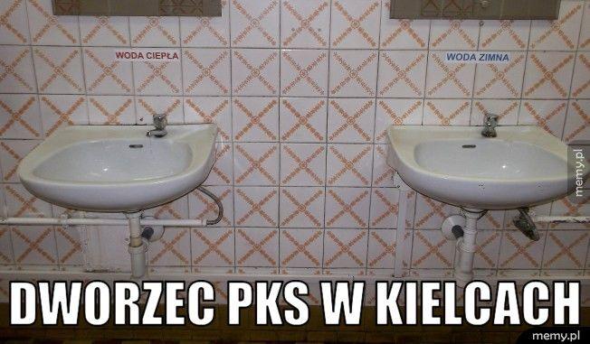 Dworzec PKS w Kielcach.