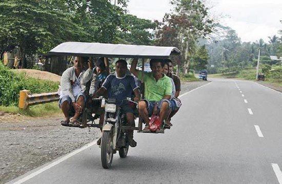 Motocykliści level Azja.