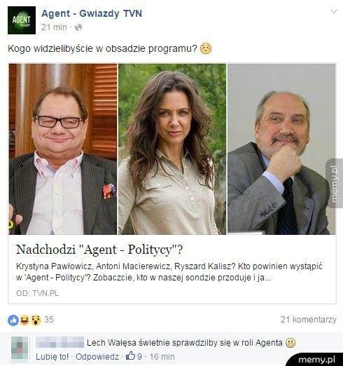 Agent Politycy