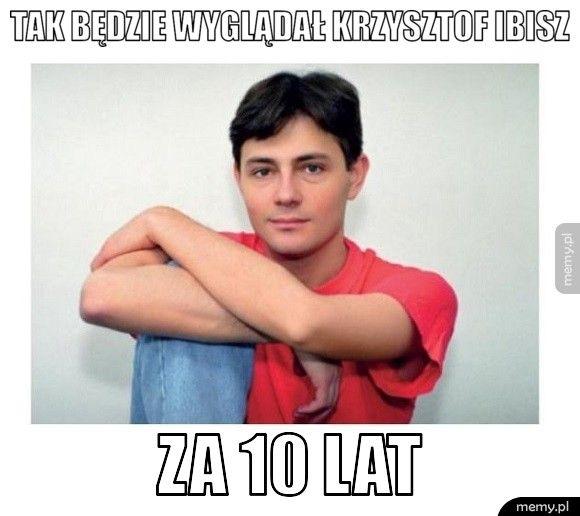 Tak będzie wyglądał Krzysztof Ibisz  Za 10 lat