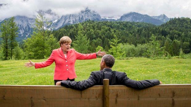 Angela Merkel i Barack Obama gwiazdami memów po szczycie G7