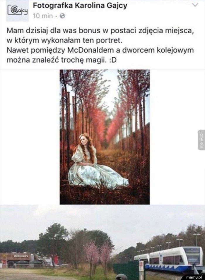 Magia fotografii