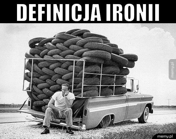 Definicja ironii