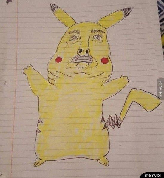 Poprosił w pizzeri o rysunek Pikachu do zamówienia. To znalazł w woreczku z sosami.