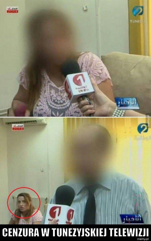Cenzura w Tunezyjskiej telewizji
