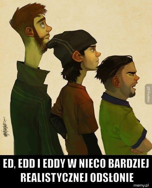 Ed, Edd i Eddy w nieco bardziej realistycznej odsłonie