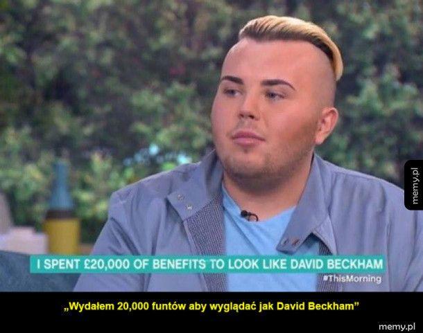Wygląda jak dwóch Beckham'ów