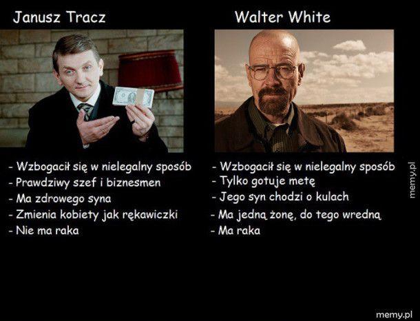 Janusz Tracz i Walter White