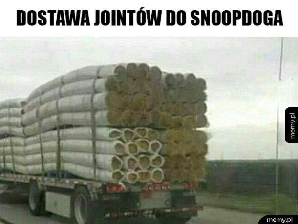 Dostawa do Snoopa