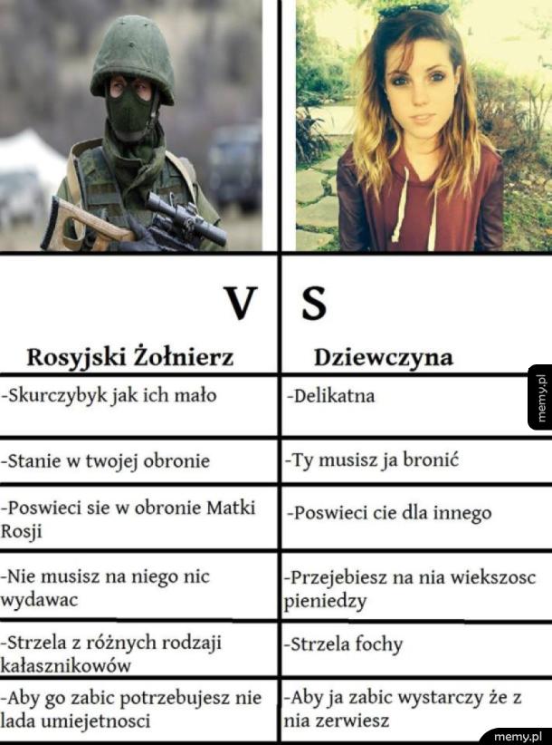 Żołnierz vs laska