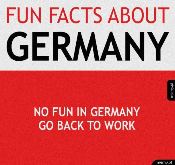 Śmieszny fakt o Niemcach