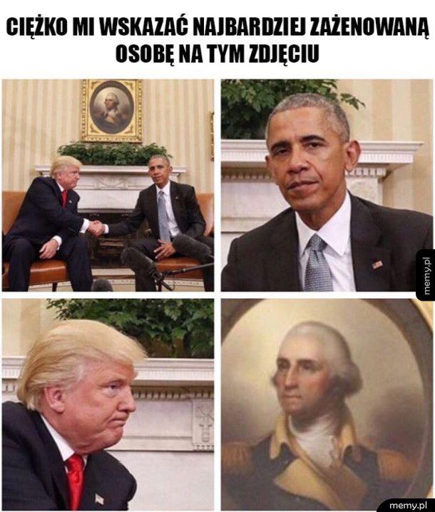 Spotkanie Trumpa z Obamą
