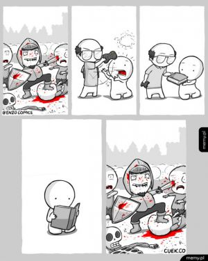 Nie tylko gry potrafią być brutalne