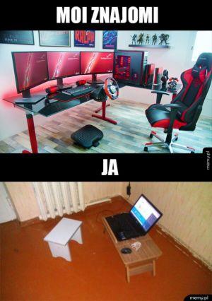 Gamingowe setupy