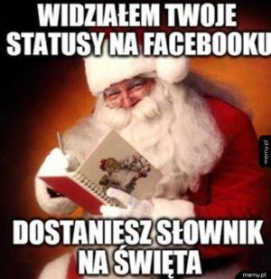 Święty Mikołaj tak mówi